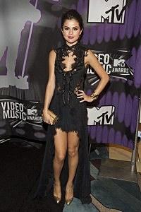Selena Gomez at the 2011 MTV VMAs