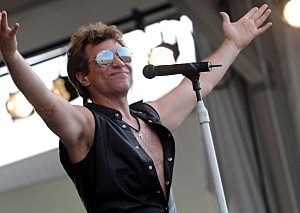Bon Jovi live on stage