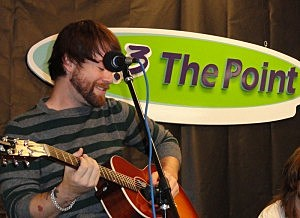 David Cook performs on The Point Sound Stage