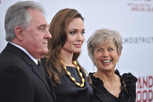 Angelina Jolie and Brad Pitt's Parents