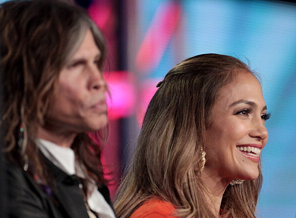 Steven Tyler and Jennifer Lopez