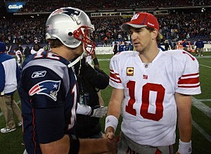 Tom Brady and Eli Manning