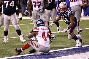 Ahmad Bradshaw Super Bowl Winning Touchdown