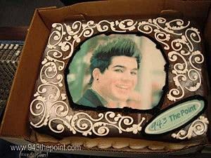 Adam Lambert Cake