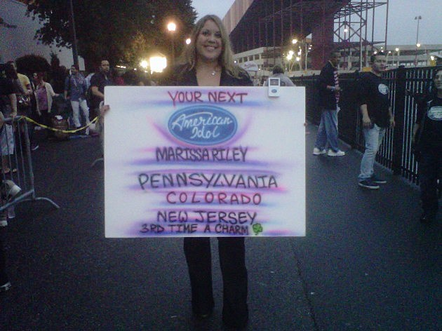 American Idol NJ auditions in September 2011