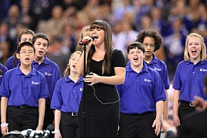 Kelly Clarkson Super Bowl National Anthem
