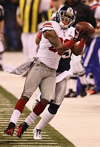 Mario Manningham Super Bowl catch