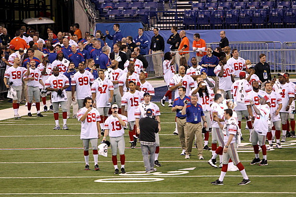 Giants at Media Day