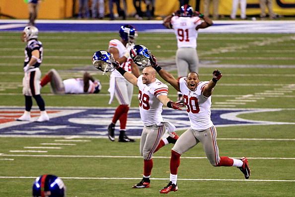 Giants celebrate Super Bowl win