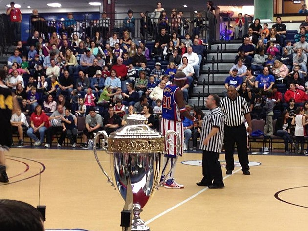 Lou Russo and the Harlem Globetrotters