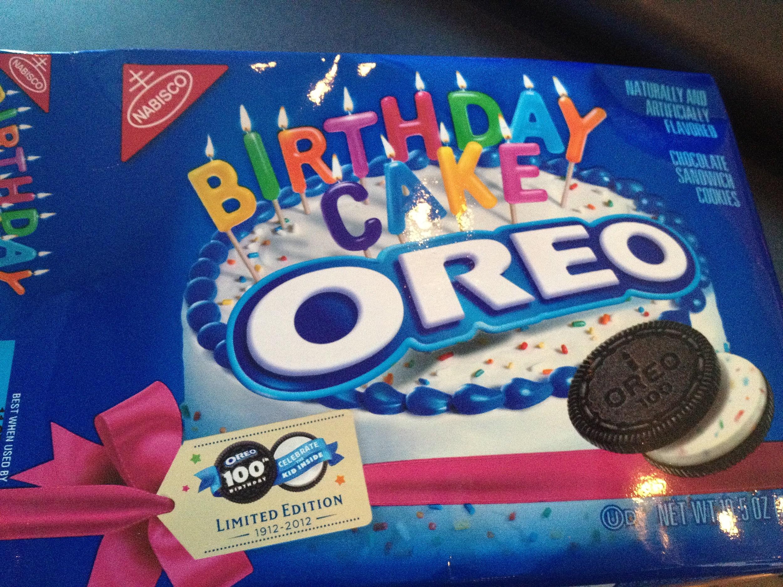 Oreo Th Birthday Cake Cookies