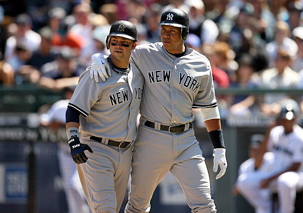 Nick Swisher and Alex Rodriguez