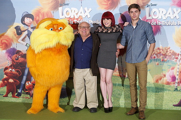 cast of the lorax