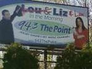 Lou and Liz billboard