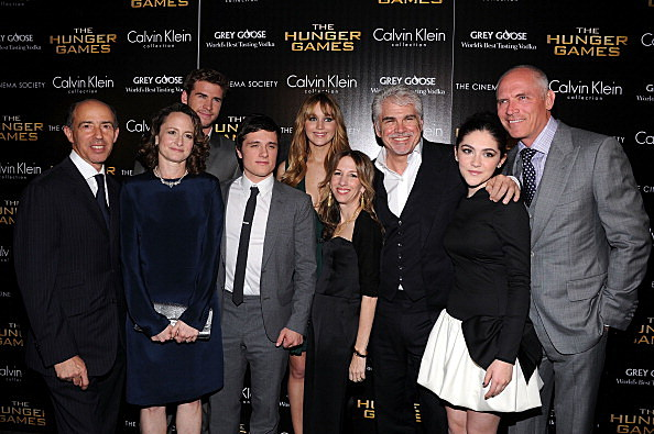 cast of The Hunger Games
