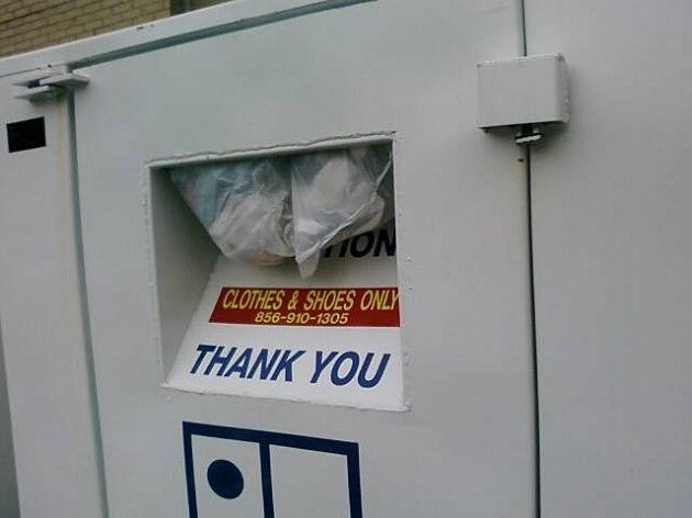 Goodwill bin