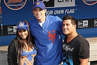 snooki at Mets game