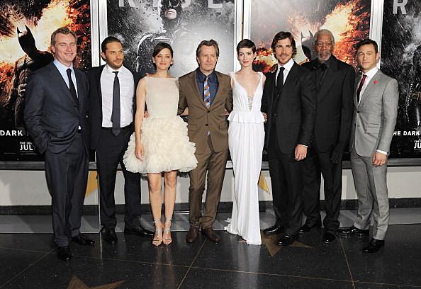 The Dark Knight Rises premiere