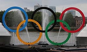 2012 London Olympic Rings