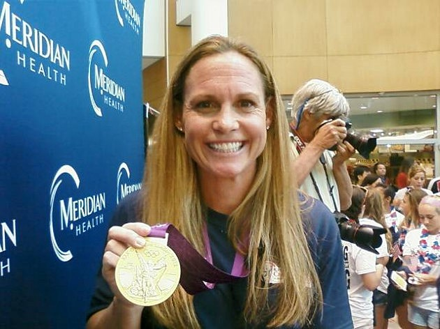 Christie Rampone gold medal