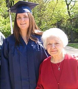Graduate and Grandma