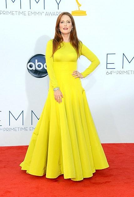 Julianne Moore Emmy Awards dress