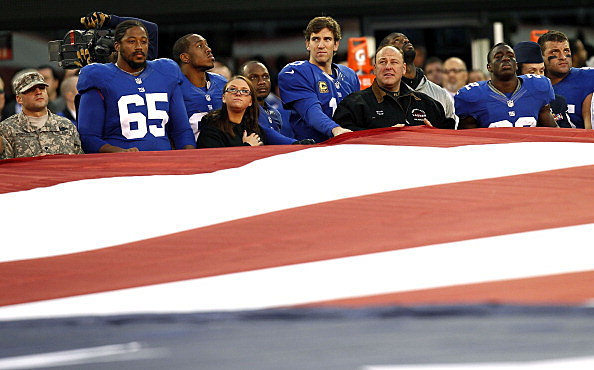 Giants and first responders