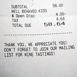well behaved kids discount