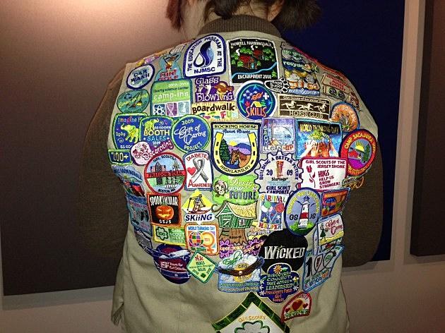 Sarah's Girl Scout vest
