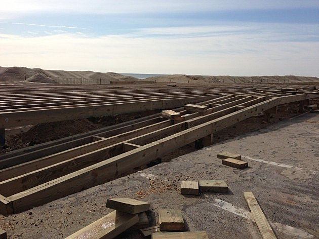 belmar boardwalk construction