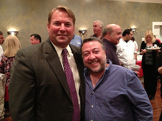 Lou and Monmouth County Sheriff Shaun Golden