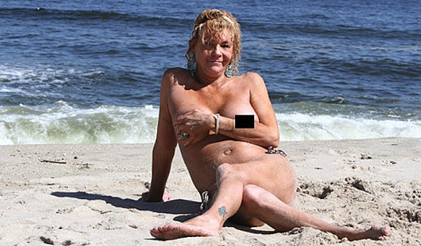Krentcil Recently Posed Nude On A Quarantined New Jersey Beach For