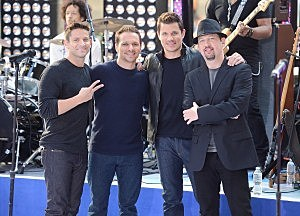 "98 Degrees Performs On NBC's ""Today"""
