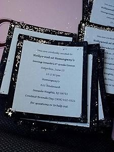 Boyd School dance invitations