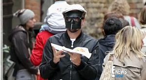 Masked celeb