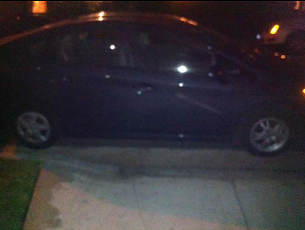 towed car