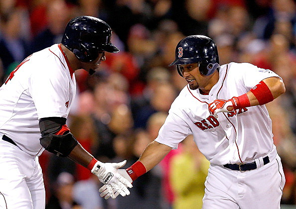 David Ortiz and Shane Victorino