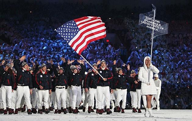 2010 Olympics Team USA Opening Ceremony