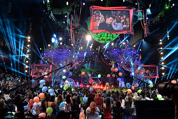 27th Annual Kids' Choice Awards held at USC Galen Center in Los Angeles