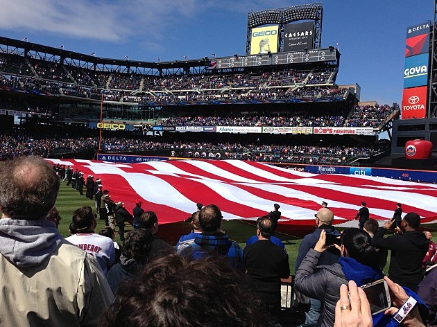 American Flag at Citifield