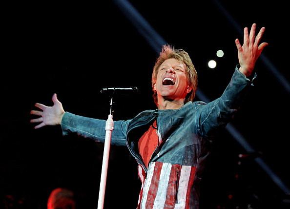 Bon Jovi Performs At The Staples Center