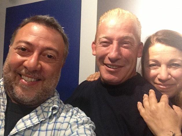 Lou, Jeff Norris and Liz