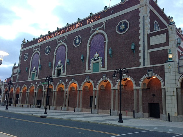 Convention Hall in Asbury Park