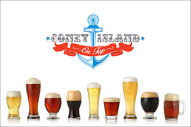 Coney Island On Tap - lotsa beers