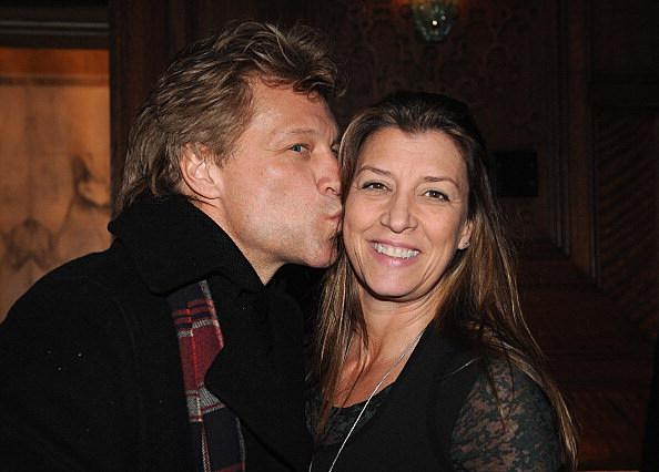Jon Bon Jovi and Dorotea Hurley