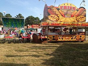 Food stand at the 2014 Ocean County Fair