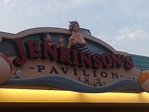 The entrance to Jenkinsons pavilion