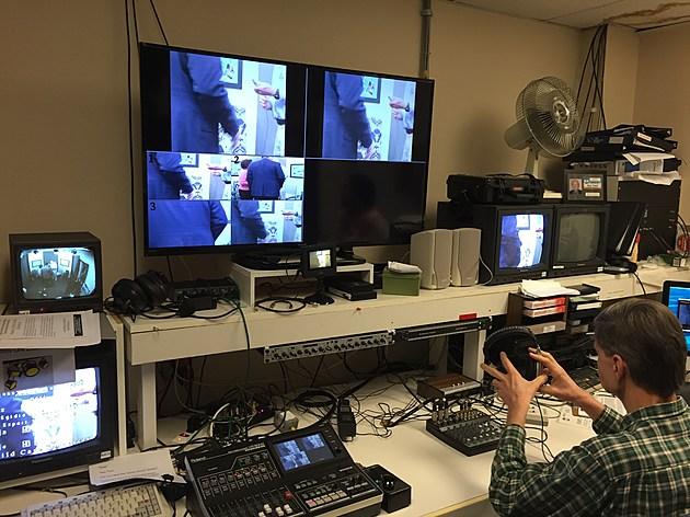 SCAN TV production studio. (photo: Matt Ryan, Townsquare Media)