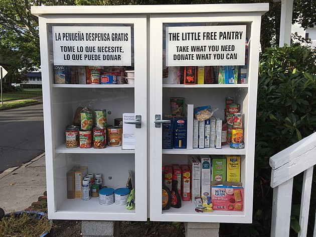 The Little Free Pantry in Manasquan