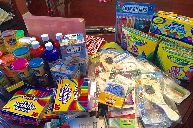 Arts crafts donations needed for kids with cancer in for Crafts to donate to charity